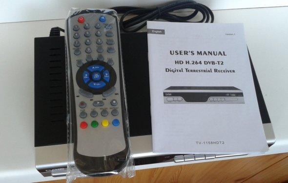 DVB-T2 ресивер - комплект