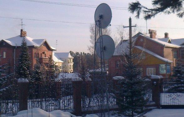 Спутниковая тарелка Триколор