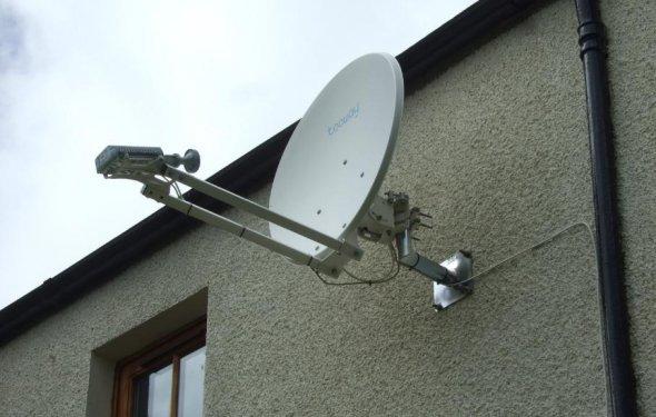 Настройка спутниковая антенна  видео
